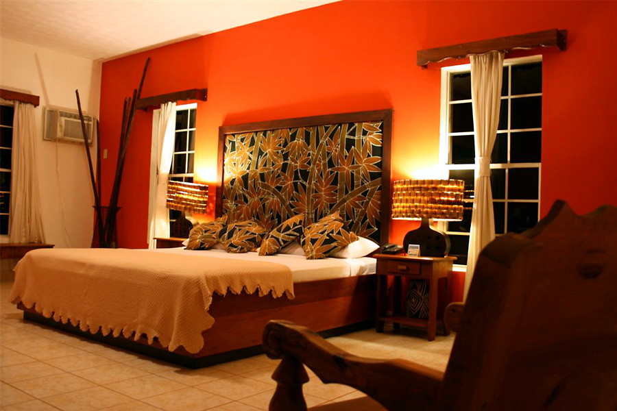 copyright by turquoise bay resort - Chambre Turquoise Et Orange